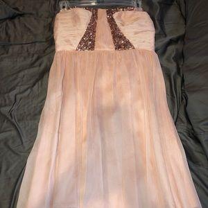 Short Pink Homecoming dress